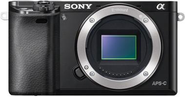 Sony Alpha 6000 zwart