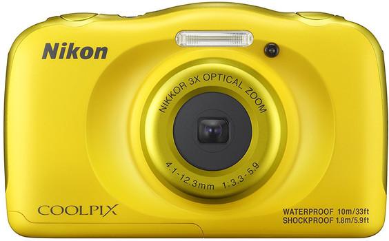 Nikon Coolpix W100 amarillo