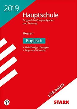 Lösungen zu Original-Prüfungen und Training Hauptschule - Englisch - Hessen [Taschenbuch]