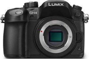 Panasonic Lumix DMC-GH4EG-K zwart