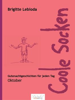 Coole Socken. Oktober - Brigitte Lebioda  [Gebundene Ausgabe]