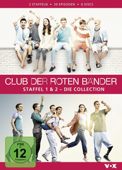 Club der roten Bänder: Staffel 1 & 2 - Die Collection [6 Discs]