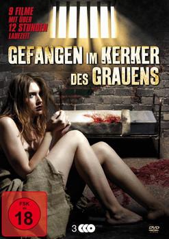Gefangen im Kerker des Grauens [3 DVDs]