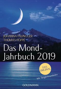 Das Mond-Jahrbuch 2019 - Thomas Poppe  [Taschenbuch]