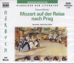 Mozart auf der Reise nach Prag, 3 Audio-CDs