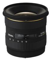 Sigma 10-20 mm F4.0-5.6 DC EX HSM 77 mm Objectif (adapté à Four Thirds) noir