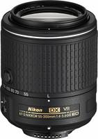 Nikon AF-S DX NIKKOR 55-200 mm F4.0-5.6 ED G VR II 52 mm Objectif (adapté à Nikon F) noir