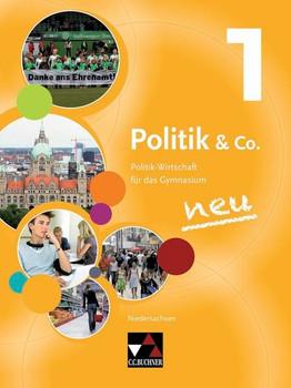 Politik & Co. 1: Politik-Wirtschaft für das Gymnasium Niedersachsen für die Jahrgangsstufe 8 - Hartwig Riedel [Gebundene Ausgabe, 2. Auflage 2016]