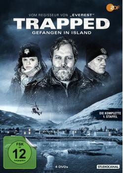 Trapped - Gefangen in Island - Die komplette 1. Staffel [4 Discs]