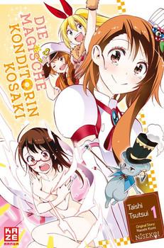Die magische Konditorin Kosaki 01 - Taishi Tsutsui  [Taschenbuch]