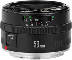 Canon EF 50 mm F1.8 52 mm Objetivo (Montura Canon EF) negro