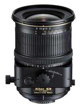 Nikon PC-E NIKKOR 24 mm F3.5 D ED 77 mm Objectif (adapté à Nikon F) noir