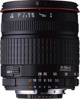 Sigma 28-200 mm F3.5-5.6 ASPH. IF 62 mm Objetivo (Montura Sony A-mount) negro