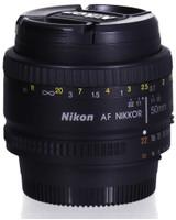Nikon AF NIKKOR 50 mm F1.8 50 mm filter (geschikt voor Nikon F) zwart