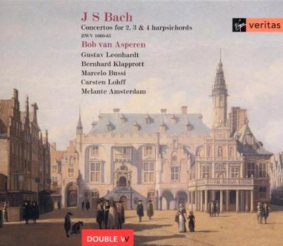 Asperen - Konzerte für zwei, drei und vier Cembali