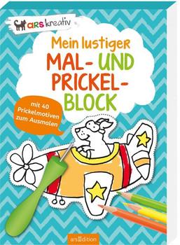 Mein lustiger Mal- und Prickel-Block [Taschenbuch]