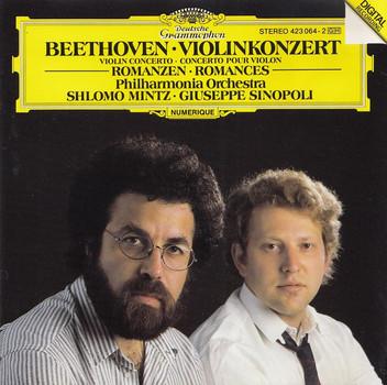 Shlomo Mintz, Philharmonia Orchestra - Giuseppe Sinopoli: Ludwig Van Beethoven - Violinkonzert Op. 61 / Violinromanzen Nr. 1 & 2
