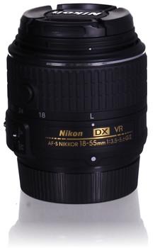 Nikon AF-S DX NIKKOR 18-55 mm F3.5-5.6 G VR II 52 mm Obiettivo (compatible con Nikon F) nero
