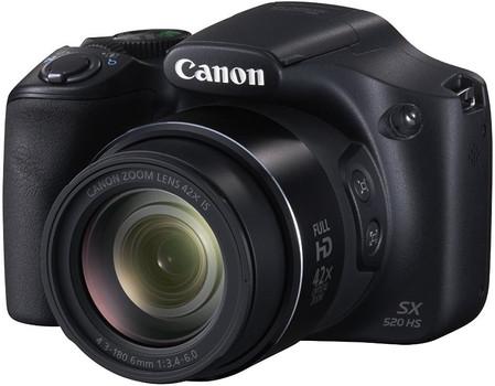 Canon SX520 HS PowerShot zwart