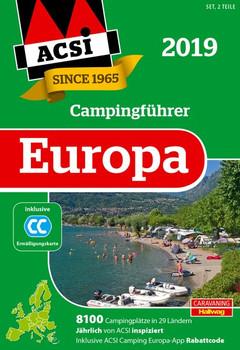 ACSI Internationaler Campingführer Europa 2019. 8200 Campingplätze in 29 Ländern [Gebundene Ausgabe]