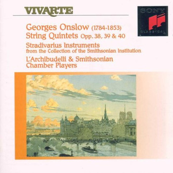 l'a Smithsonian Chamber Playe - 3 Quintette Op. 38-40