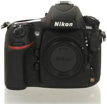 Nikon D800 body zwart