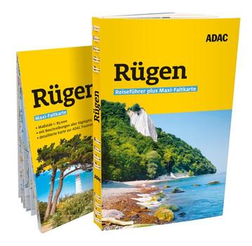 ADAC Reiseführer plus Rügen. mit Maxi-Faltkarte zum Herausnehmen - Sabine Tzschaschel  [Taschenbuch]