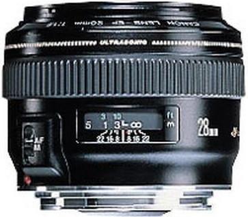 Canon EF 28 mm F1.8 USM 58 mm filter (geschikt voor Canon EF) zwart
