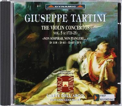 Giovanni Guglielmo - Violinkonzerte d.1 und 43 und 61 und 118