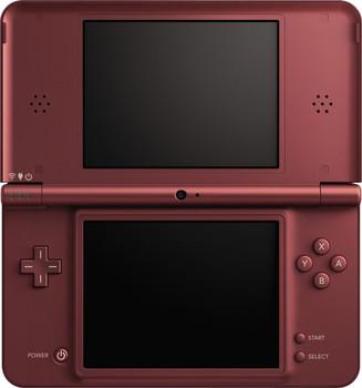 Nintendo DSi XL bordeauxrood