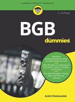 BGB für Dummies - André Niedostadek  [Taschenbuch]