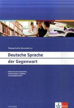 Deutsche Sprache der Gegenwart - Horst Klösel