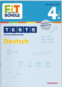 FiT FÜR DIE SCHULE: Tests mit Lernzielkontrolle - Deutsch 4. Klasse - Peter Kohring [Broschiert]