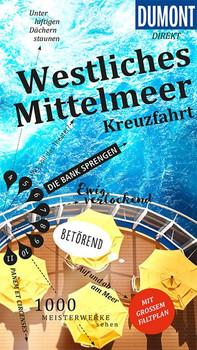 DuMont direkt Reiseführer Westliches Mittelmeer Kreuzfahrt. Mit großem Faltplan - Simon Hart  [Taschenbuch]