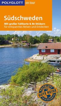 POLYGLOTT on tour Reiseführer Südschweden. Mit großer Faltkarte und 80 Stickern - Christian Nowak  [Taschenbuch]