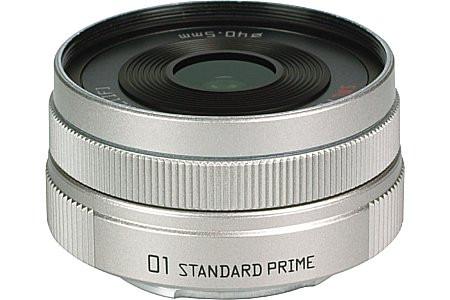 Pentax 8,5 mm F1.9 40,5 mm Objectif (adapté à Pentax Q) argent
