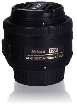 Nikon AF-S DX NIKKOR 35 mm F1.8 G 52 mm filter (geschikt voor Nikon F) zwart