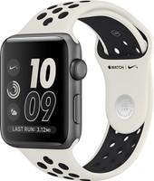 Apple Watch Nike+ Series 2 38mm Caja de aluminio en gris espacial con correa Nike Sport light bone black [Wifi, Limited NikeLab Edition]