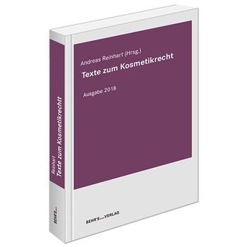 Texte zum Kosmetikrecht [Taschenbuch]