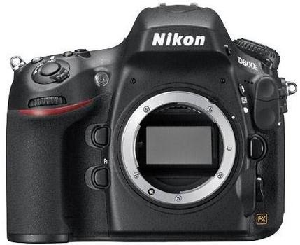 Nikon D800E body zwart