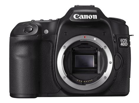 Canon EOS 40D noir