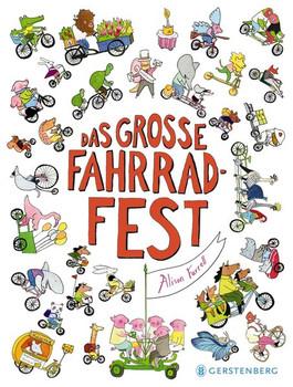 Das große Fahrrad-Fest - Alison Farrell  [Gebundene Ausgabe]
