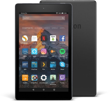 """Amazon Fire HD 8 8"""" 16 Go [Wi-Fi] noir"""