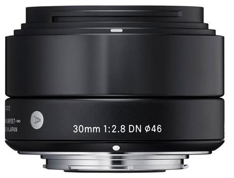 Sigma A 30 mm F2.8 DN 46 mm filter (geschikt voor Sony E-mount) zwart