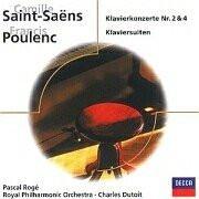 Pascal Roge - Klavierkonzerte und Klaviersuiten von Saint-Saens und Poulenc