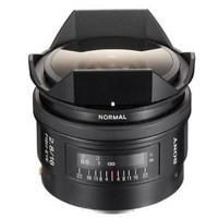 Sony 16 mm F2.8 49 mm Objetivo (Montura Sony A-mount) negro