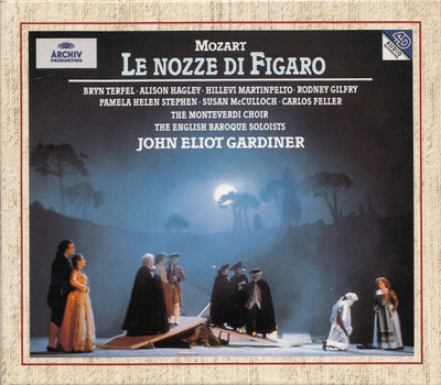 The English Baroque Soloists - John Eliot Gardiner: Wolfgang Amadeus Mozart - Le nozze di Figaro [3 CDs]