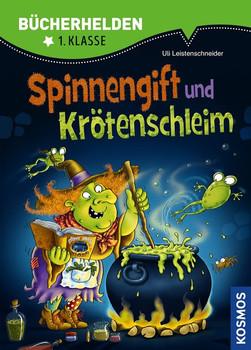 Spinnengift und Krötenschleim, Bücherhelden. Das Buch zum Spiel von Klaus Teuber - Uli Leistenschneider  [Gebundene Ausgabe]