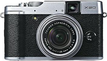 Fujifilm X20 argent