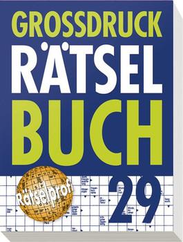 Großdruck Rätselbuch Band 29 [Taschenbuch]